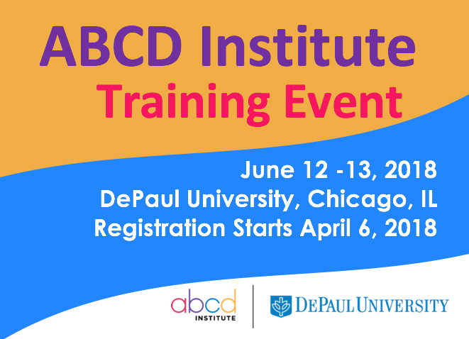 ABCD Institute Training Banner