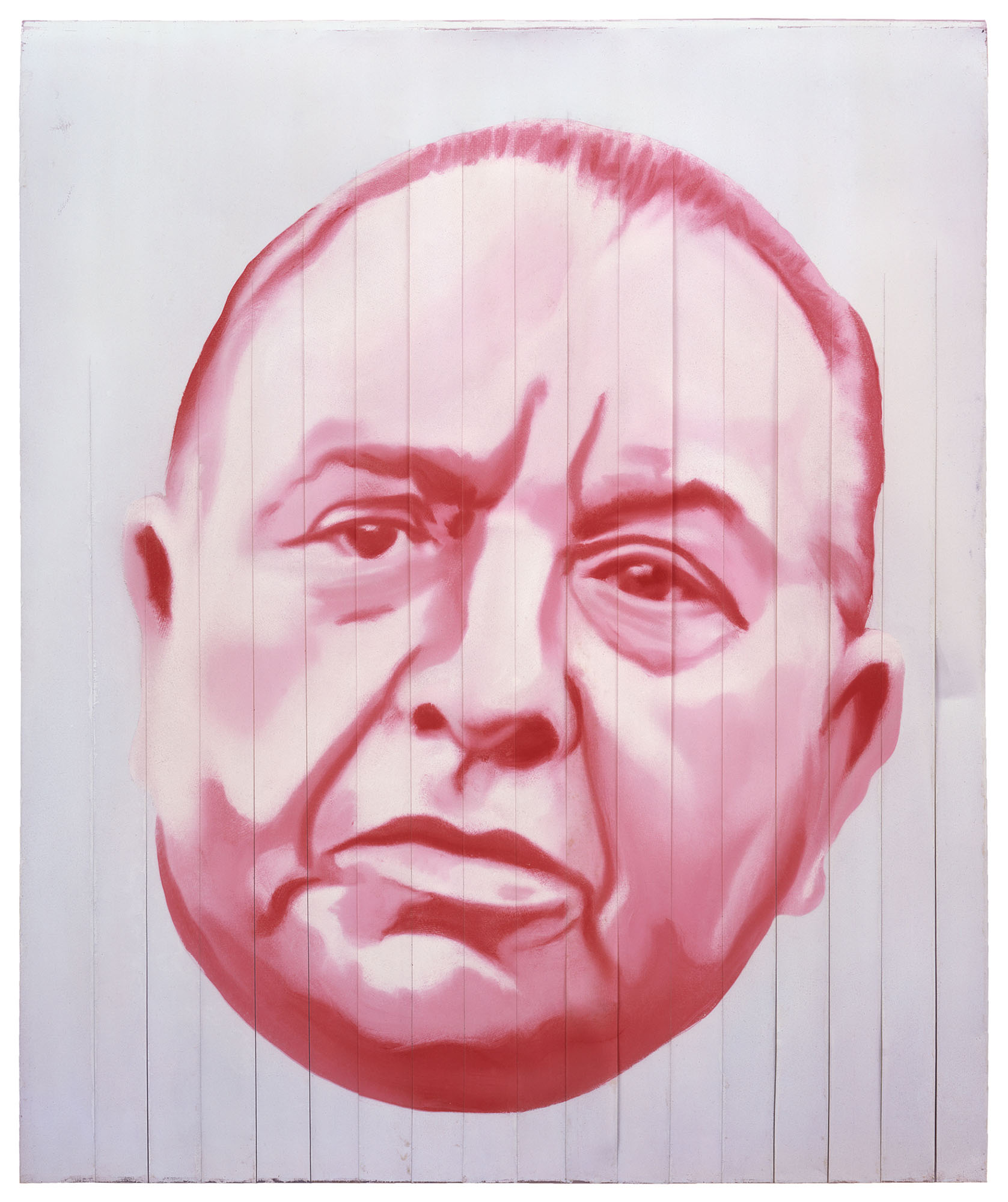 James Rosenquist, Mayor Daley, 1968. Oil on aluminum panel and Mylar. Collection of the artist. Photo courtesy of Rosenquist studios