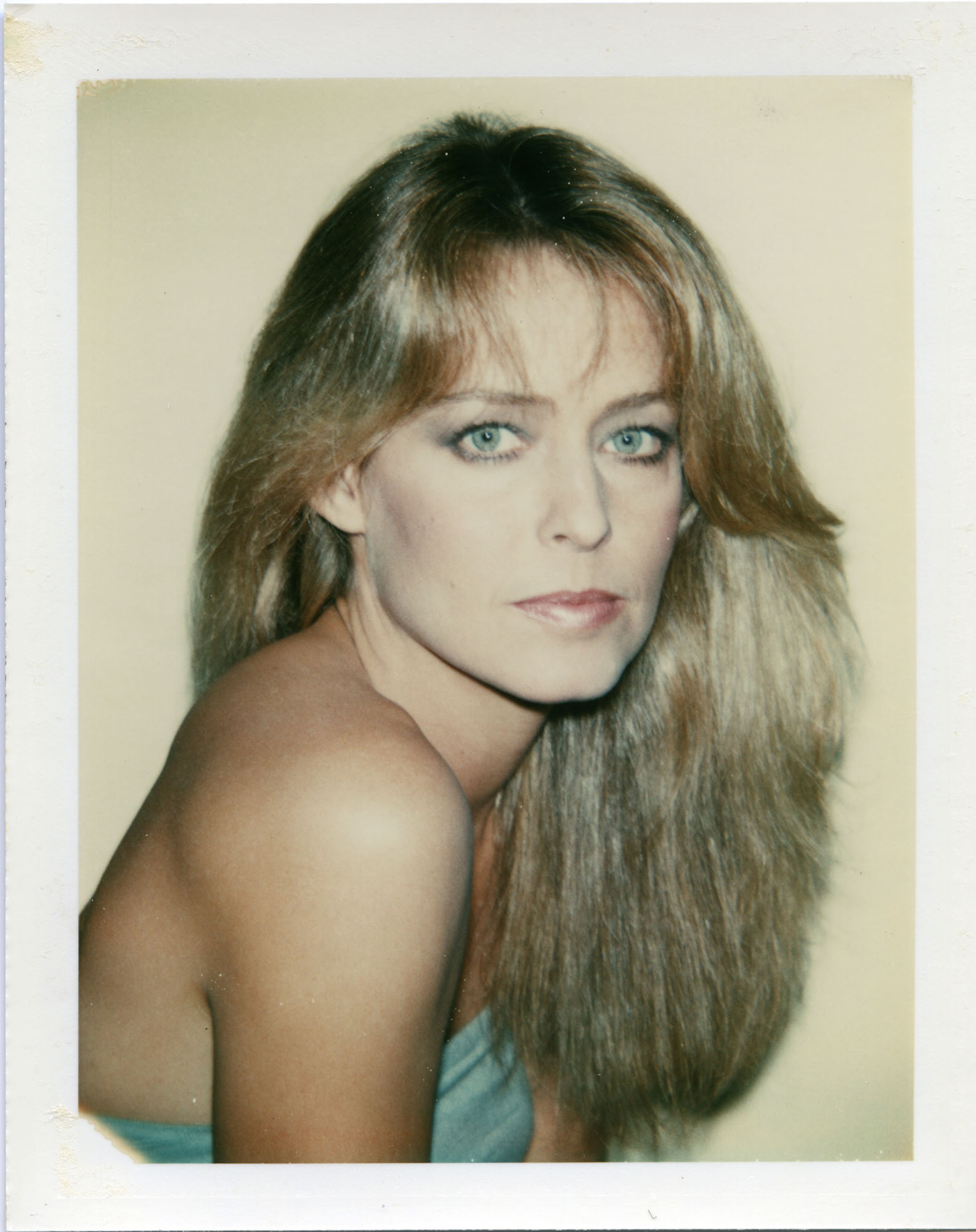 Andy Warhol, Untitled (Farrah Fawcett), 1979. Polaroid color print. Collection of DePaul Art Museum, Gift of the Andy Warhol Foundation for the Visual Arts, 2008.74.16