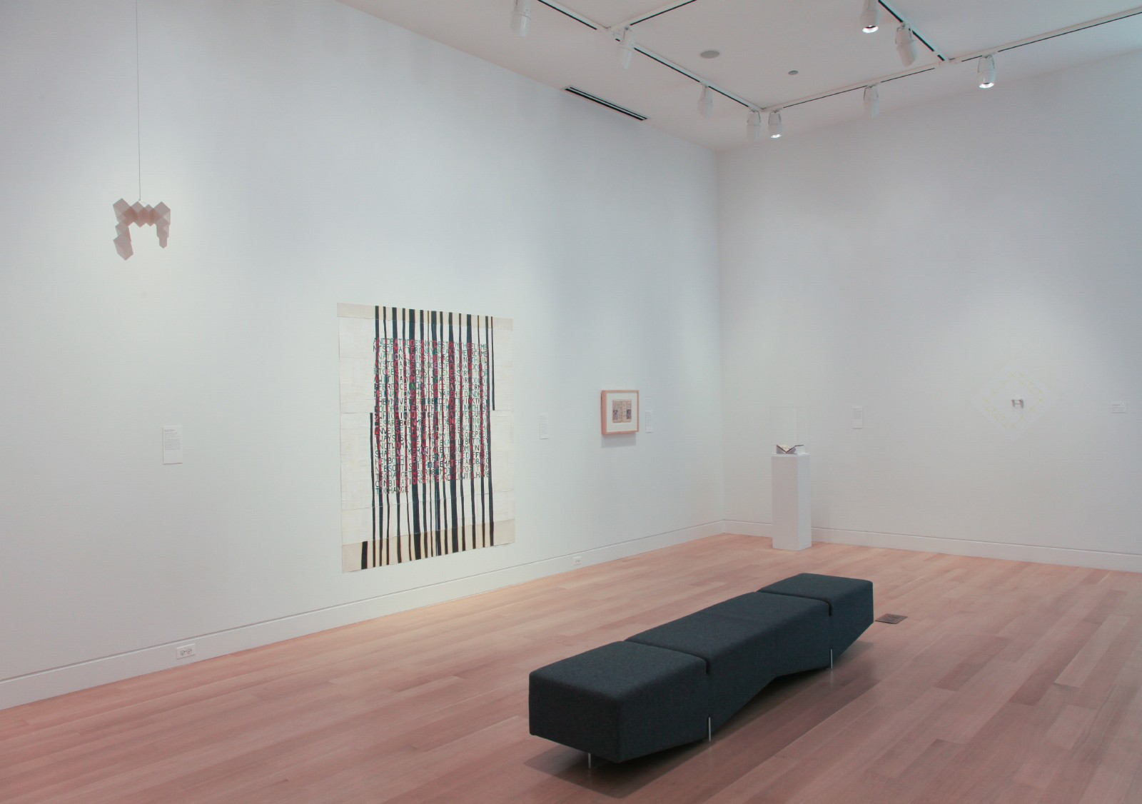 "Installation view of ""Dianna Frid & Richard Rizac: Split Complementary"""