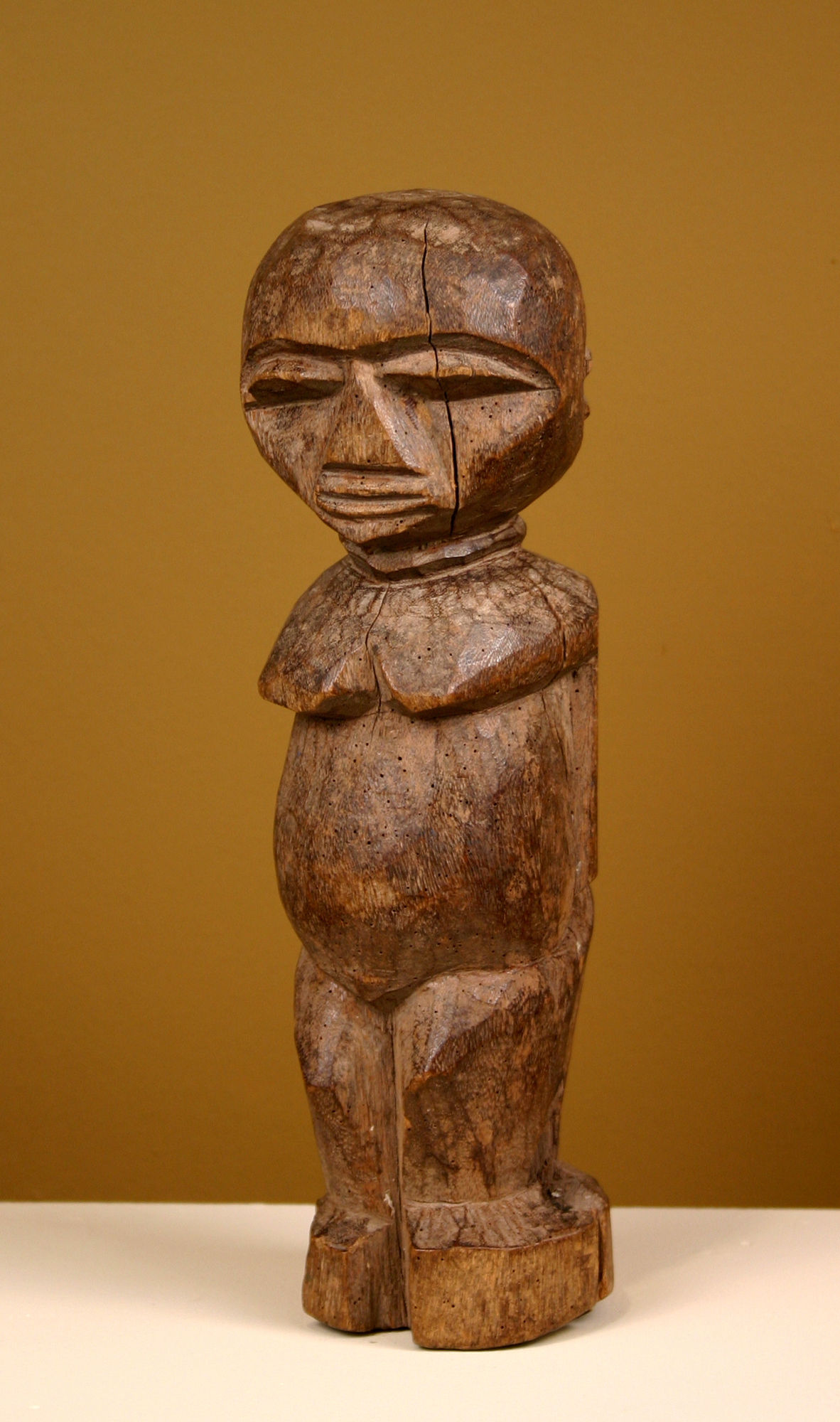 Artist Unknown (Lobi, Burkina Faso or Ivory Coast), Untitled, n.d. Wood. Collection of DePaul University, gift of the May Weber Foundation.