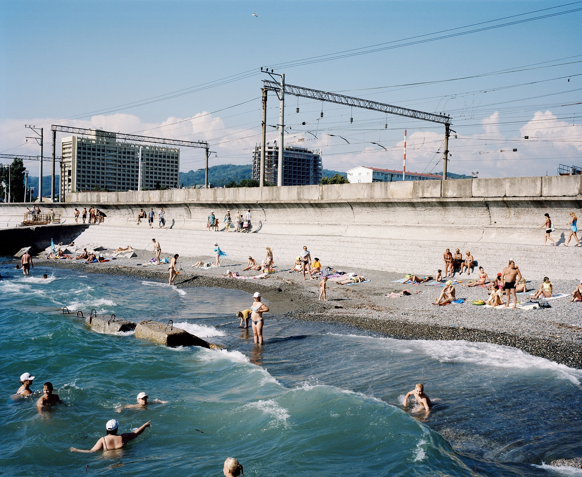 Rob Hornstra, Adler, Sochi Region, Russia, 2011. © Rob Hornstra, courtesy Flatland Gallery NL/Paris. From The Sochi Project: An Atlas of War and Tourism in the Caucasus (Aperture, 2013)