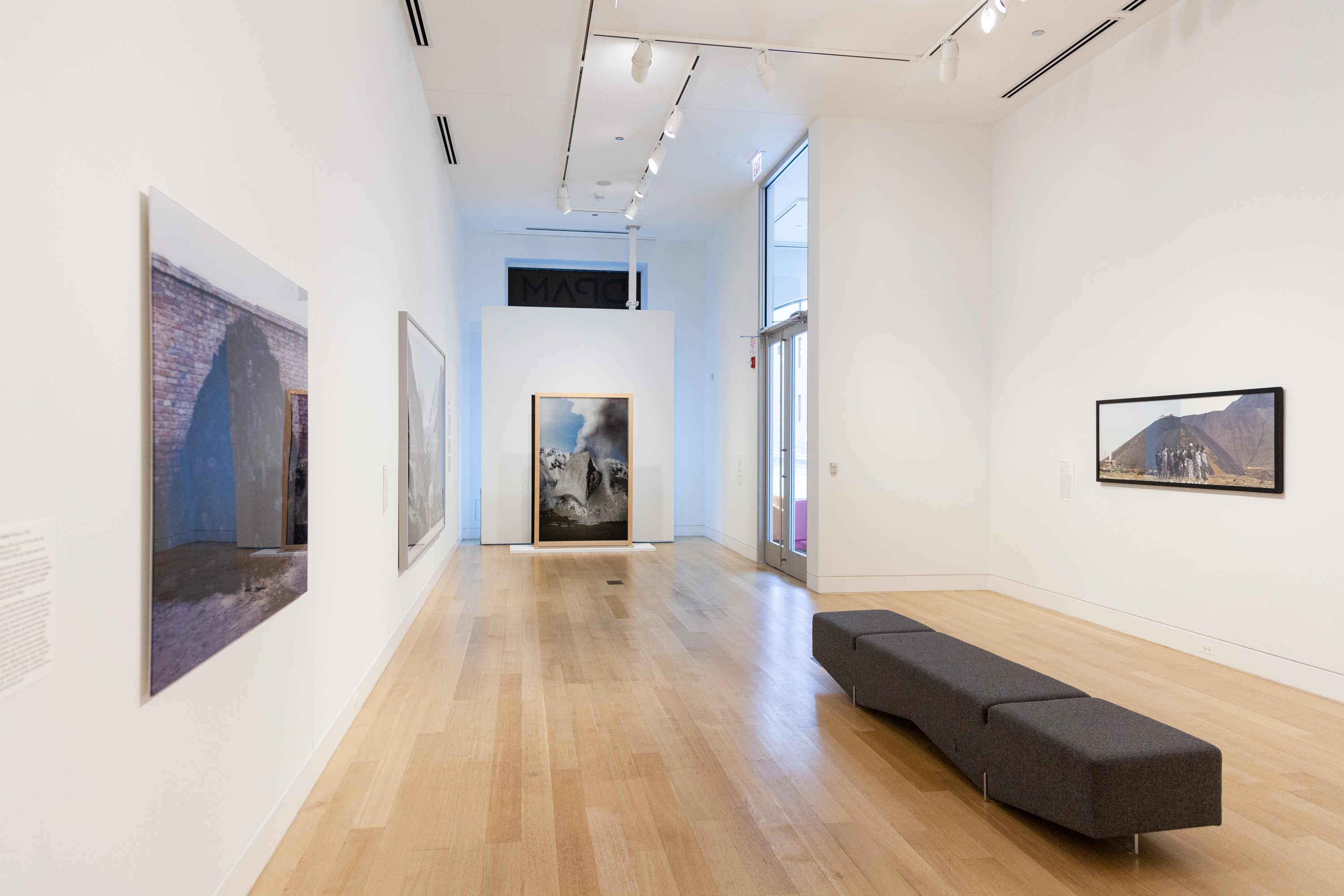 Installation view of The World to Come: Art in the Age of the Anthropocene