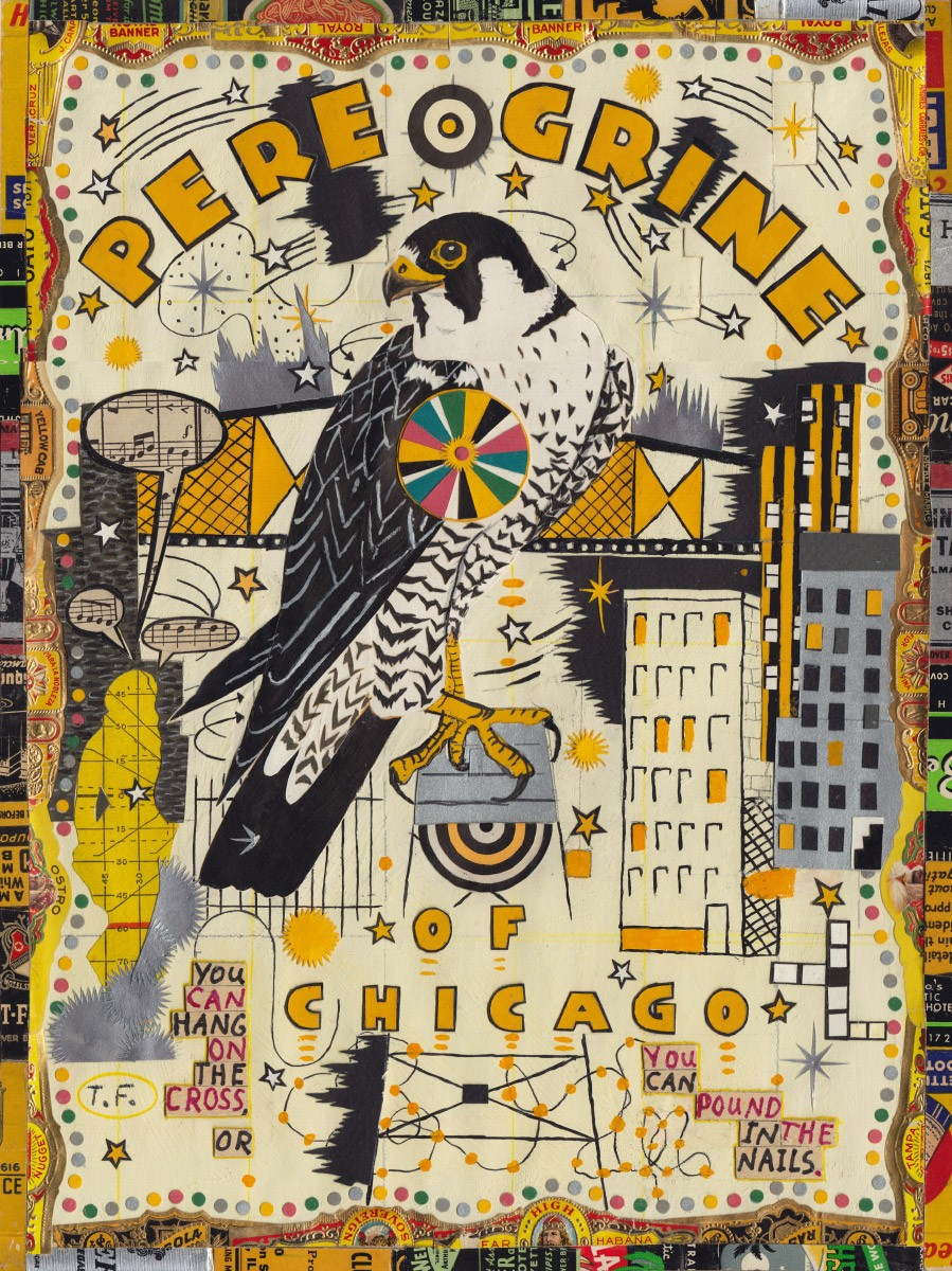 Tony Fitzpatrick, Peregrine of Chicago, 2014