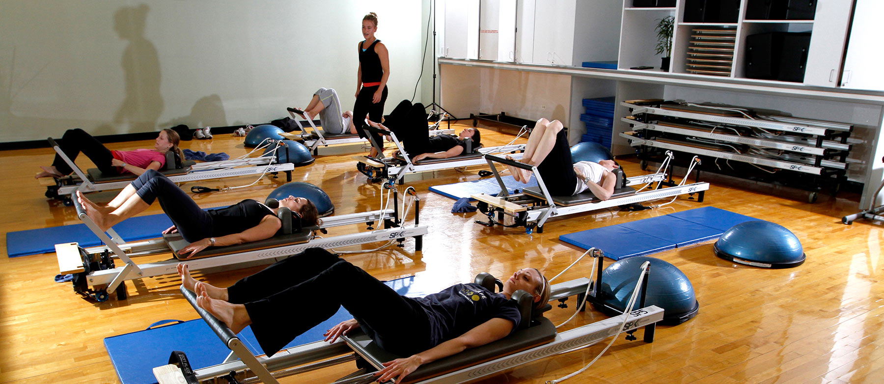 Pilates equipment reformer
