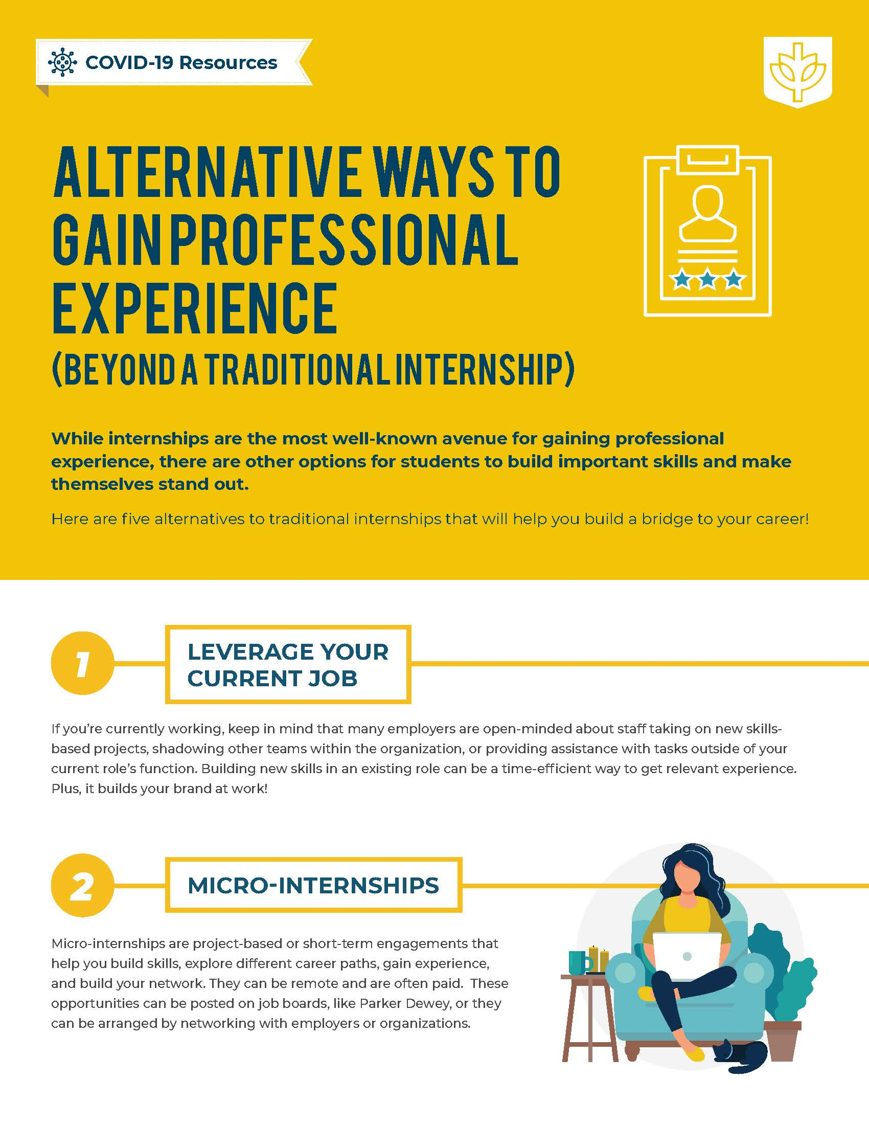 Alternative Ways to Gain Experience