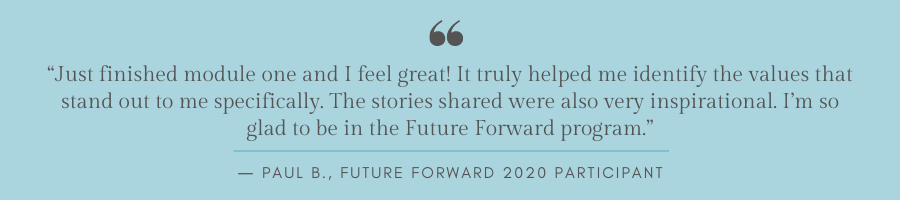 Future Forward quote