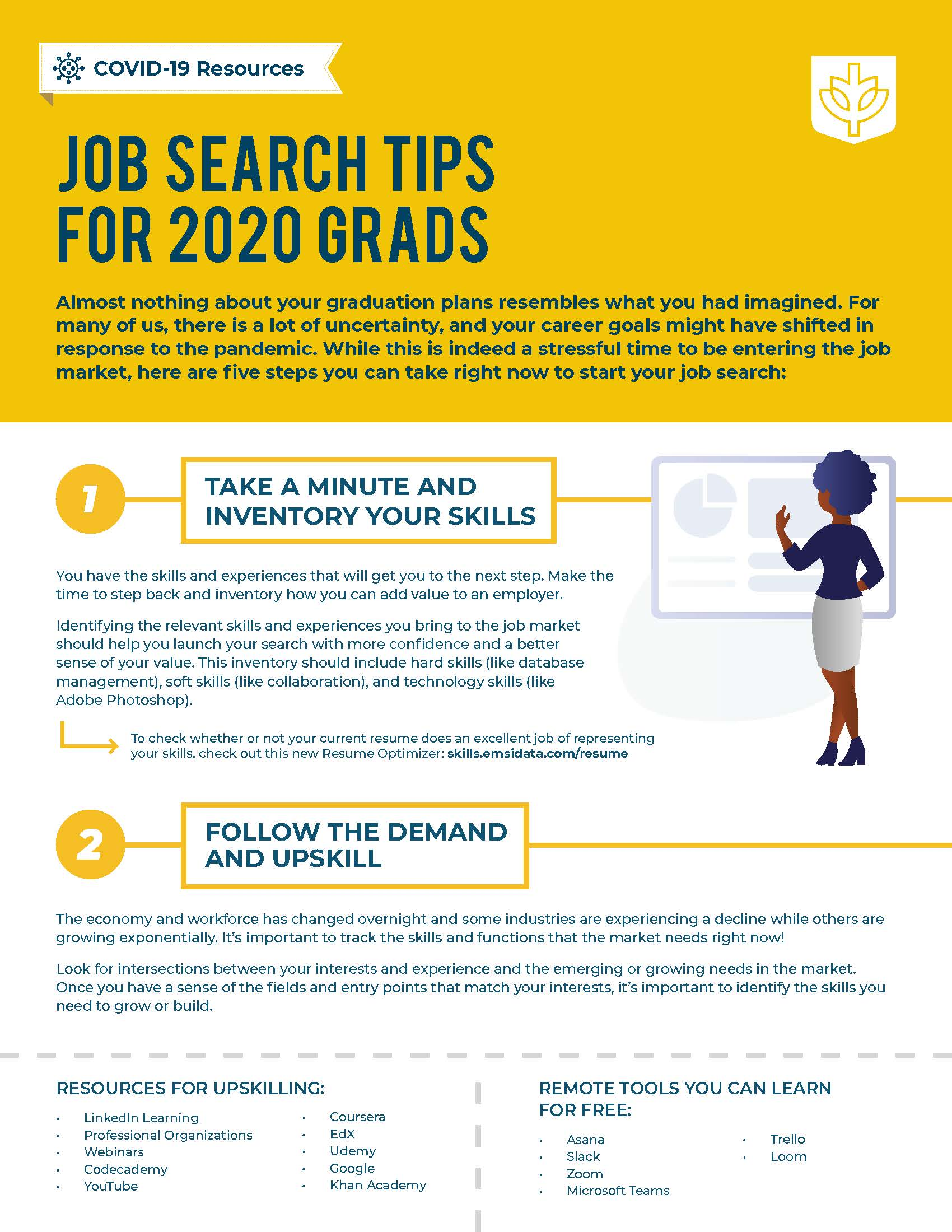 2020 Grad Job Search Tips