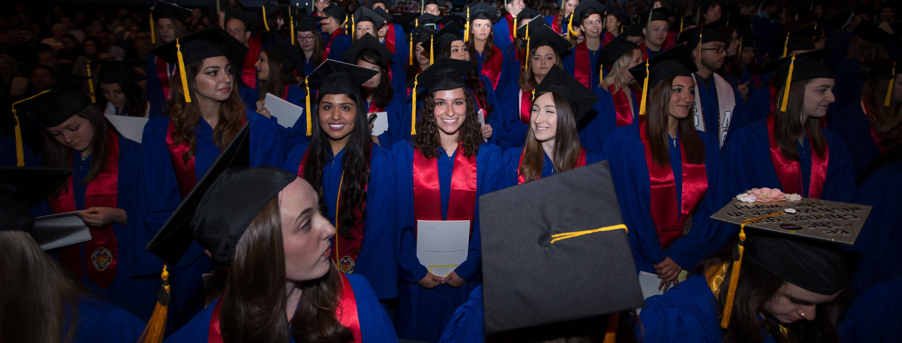 Cap & Gown | Preparation | Commencement | DePaul University, Chicago