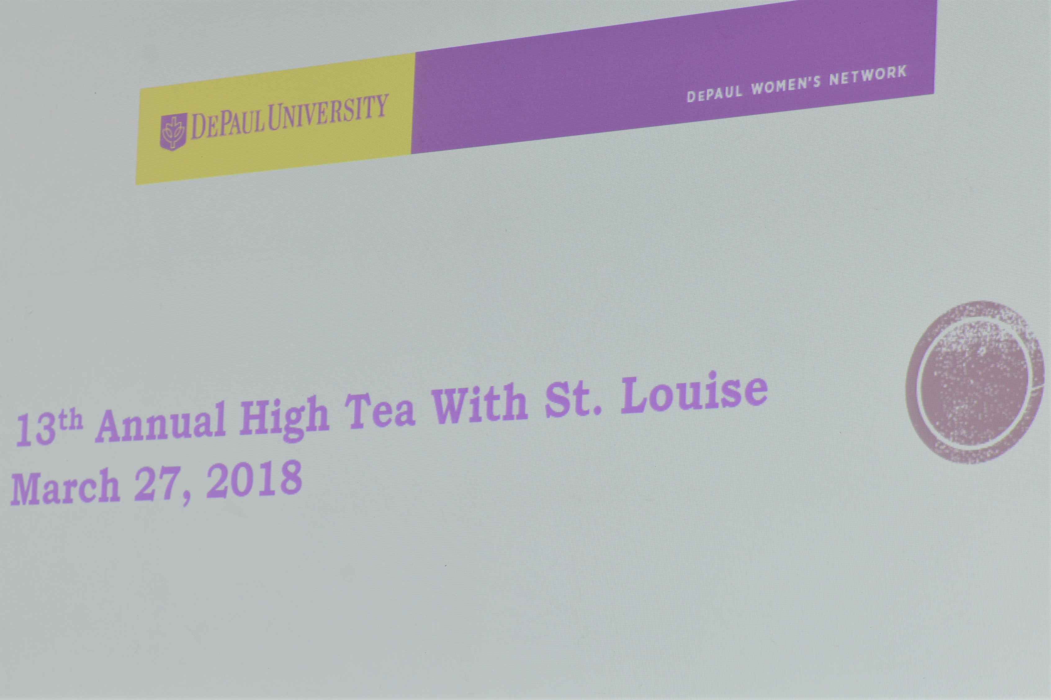 13th Annual High Tea Screen