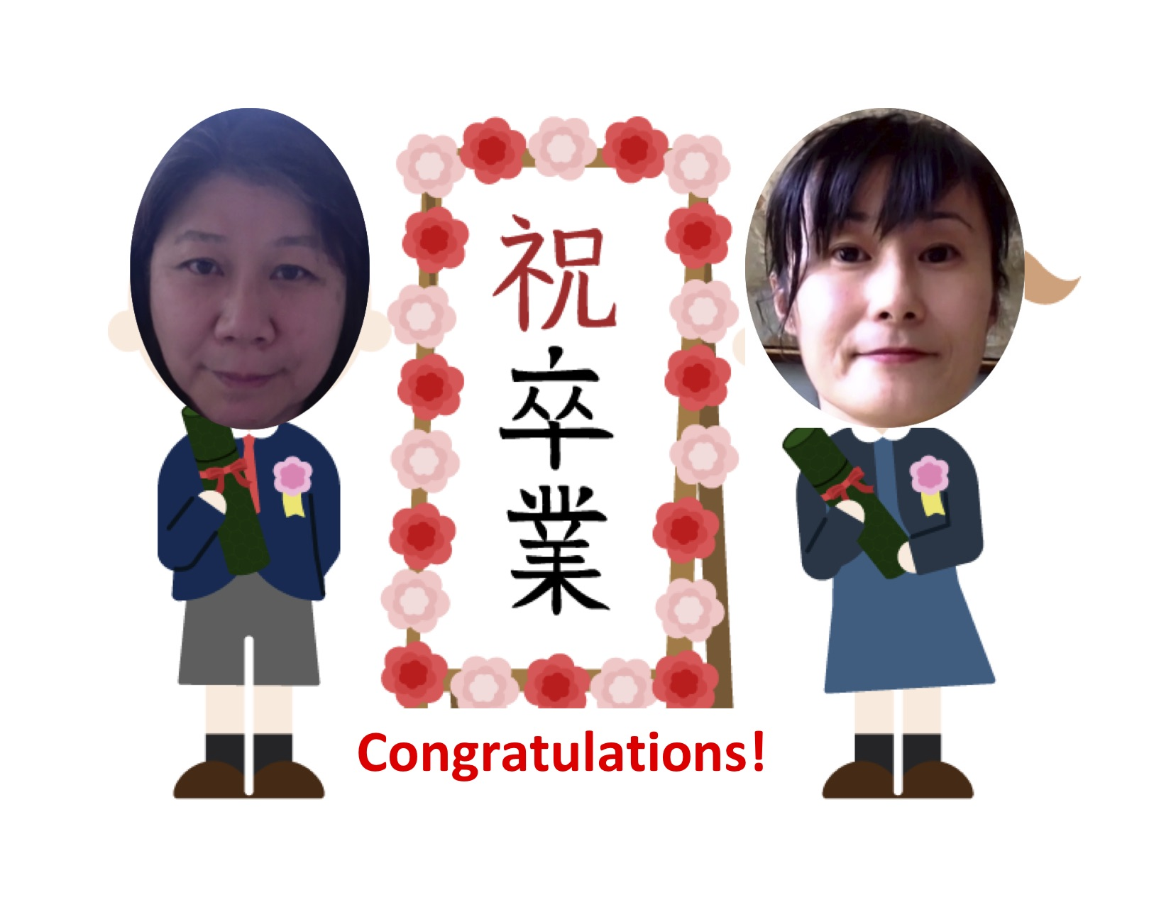 Congratulations &  Omedetou Class of 2020!