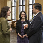 Chicago women leaders host welcome reception for the Estebans