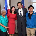 Chicago Filipino-American community welcomes Dr. and Mrs. Esteban