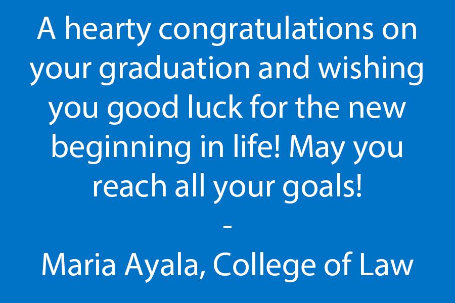 Congratulations Law Students