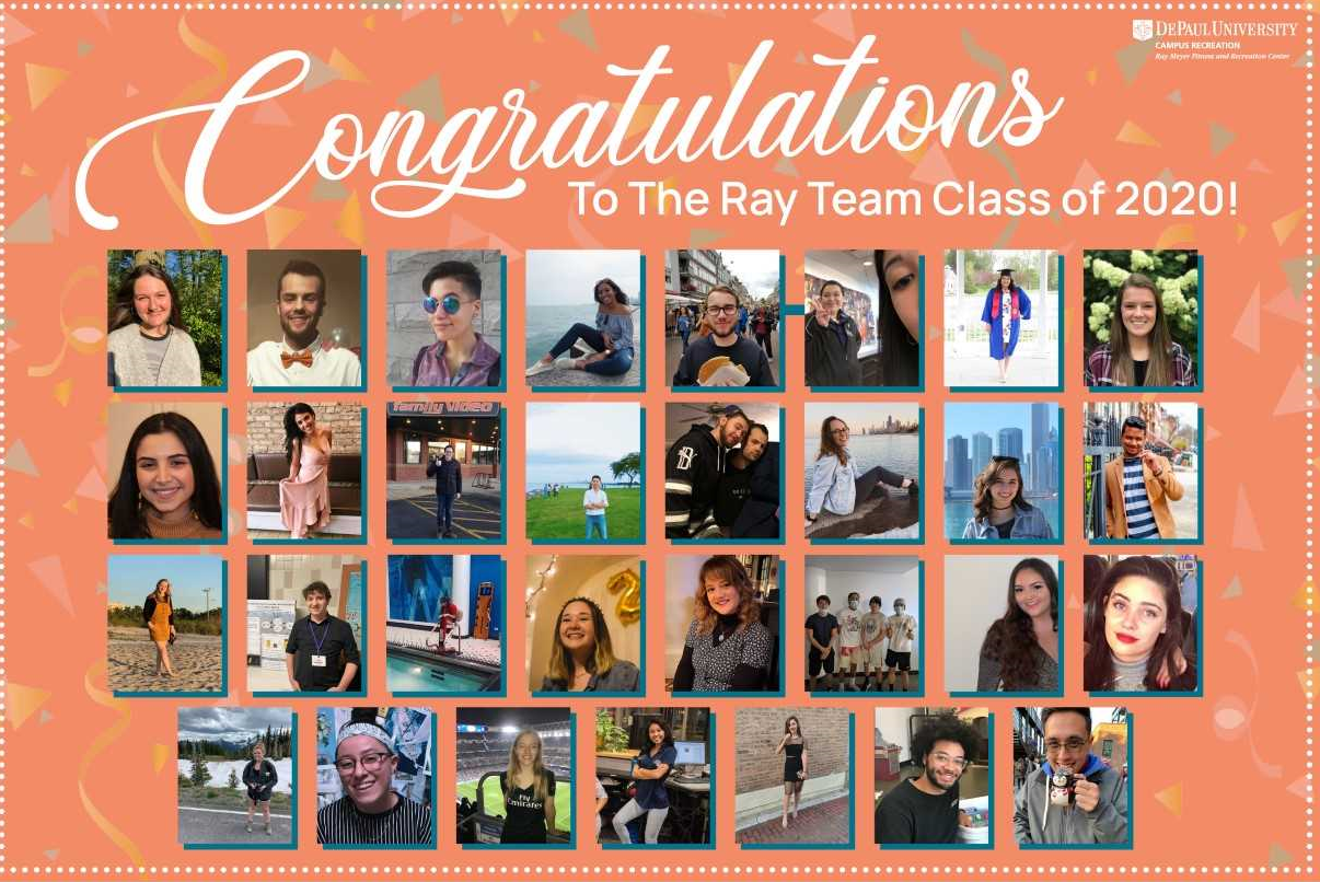 Congratulations Ray Team Class of 2020