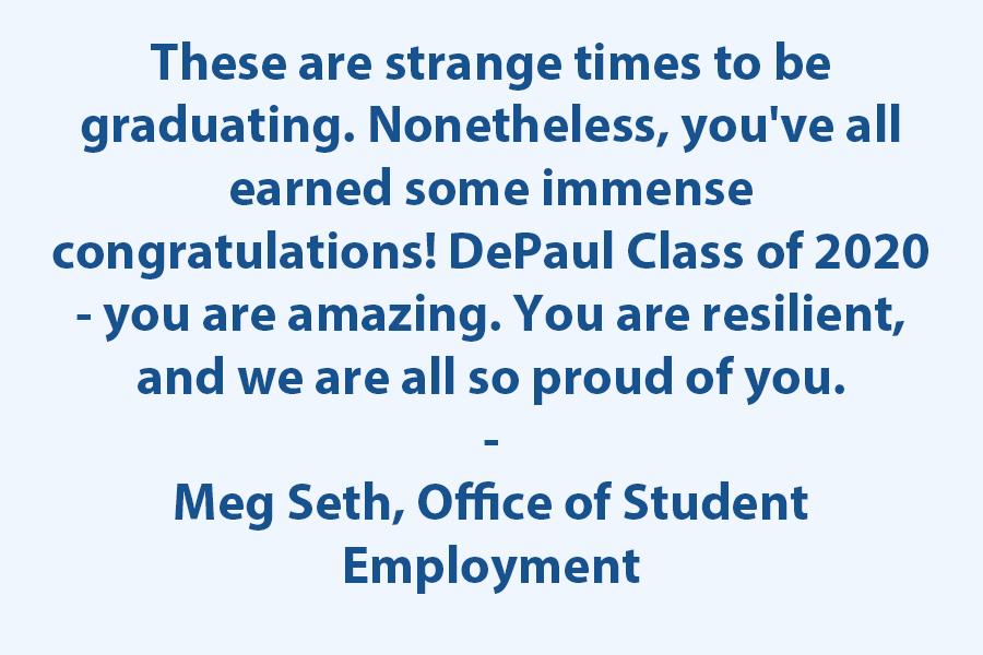 Congratulations 2020 Graduates!