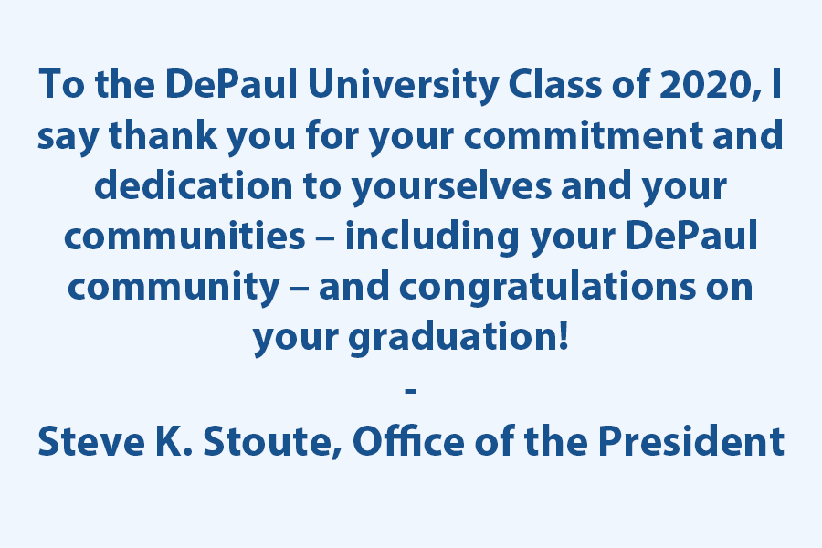 Thank you and Congratulations!