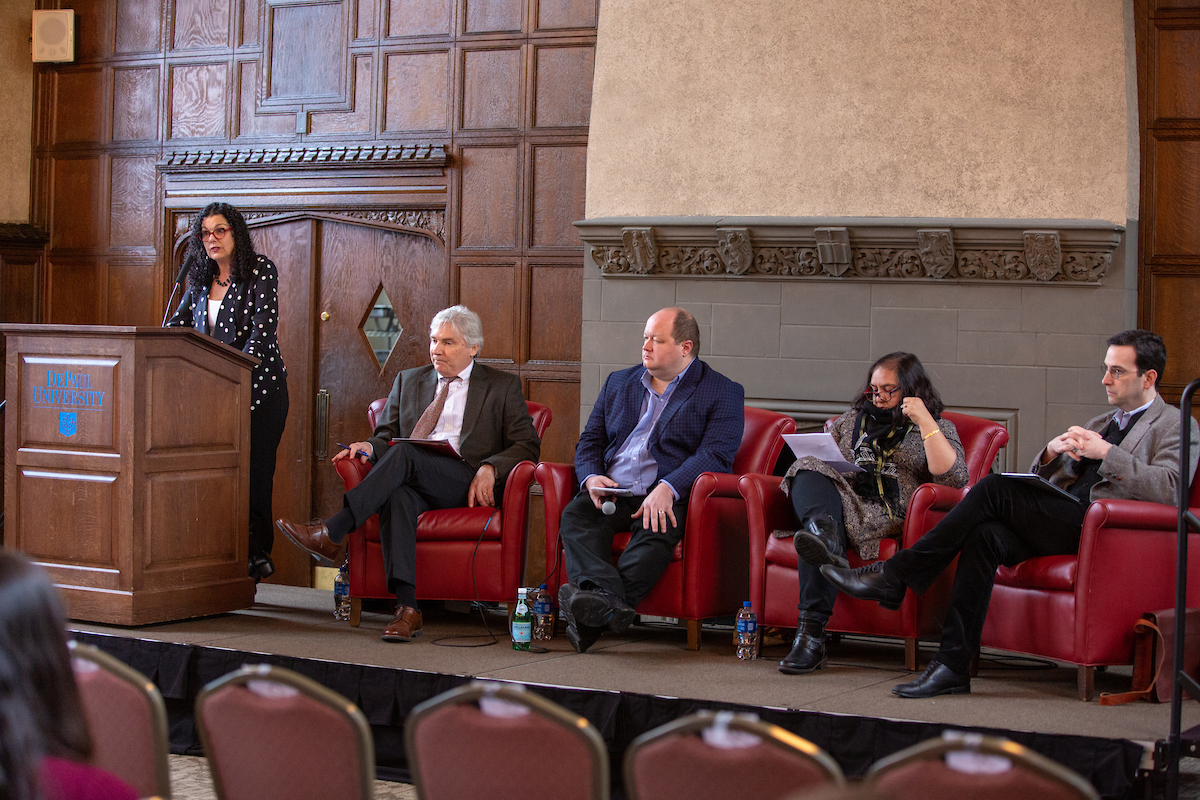 Views on the Middle East and Freedom of Expression at DePaul