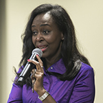 Rwandan author Immaculée Ilibagiza shares her story with DePaul