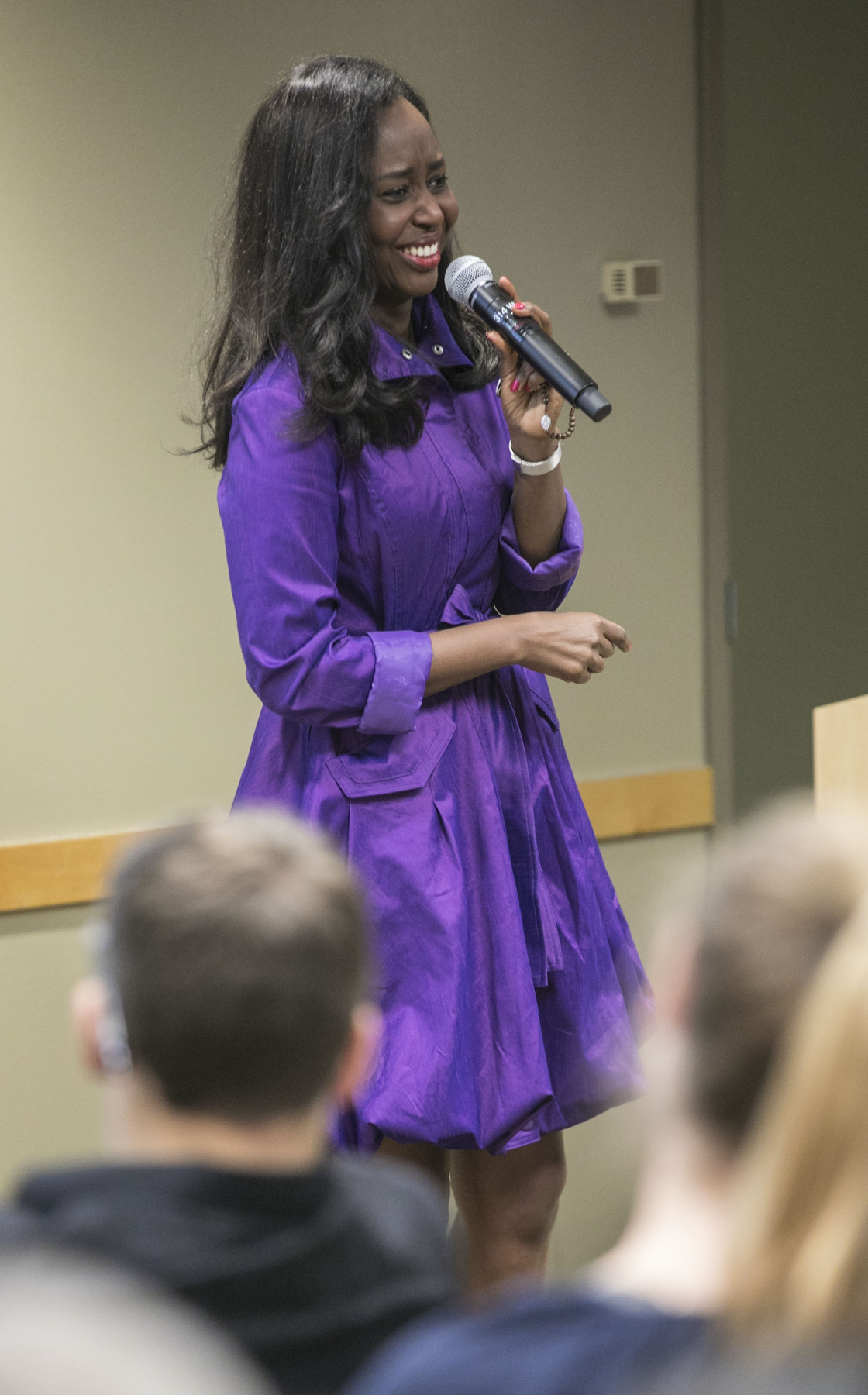 Rwandan author visits DePaul