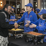 Student Affairs hosts DePaul's first Midnight Breakfast