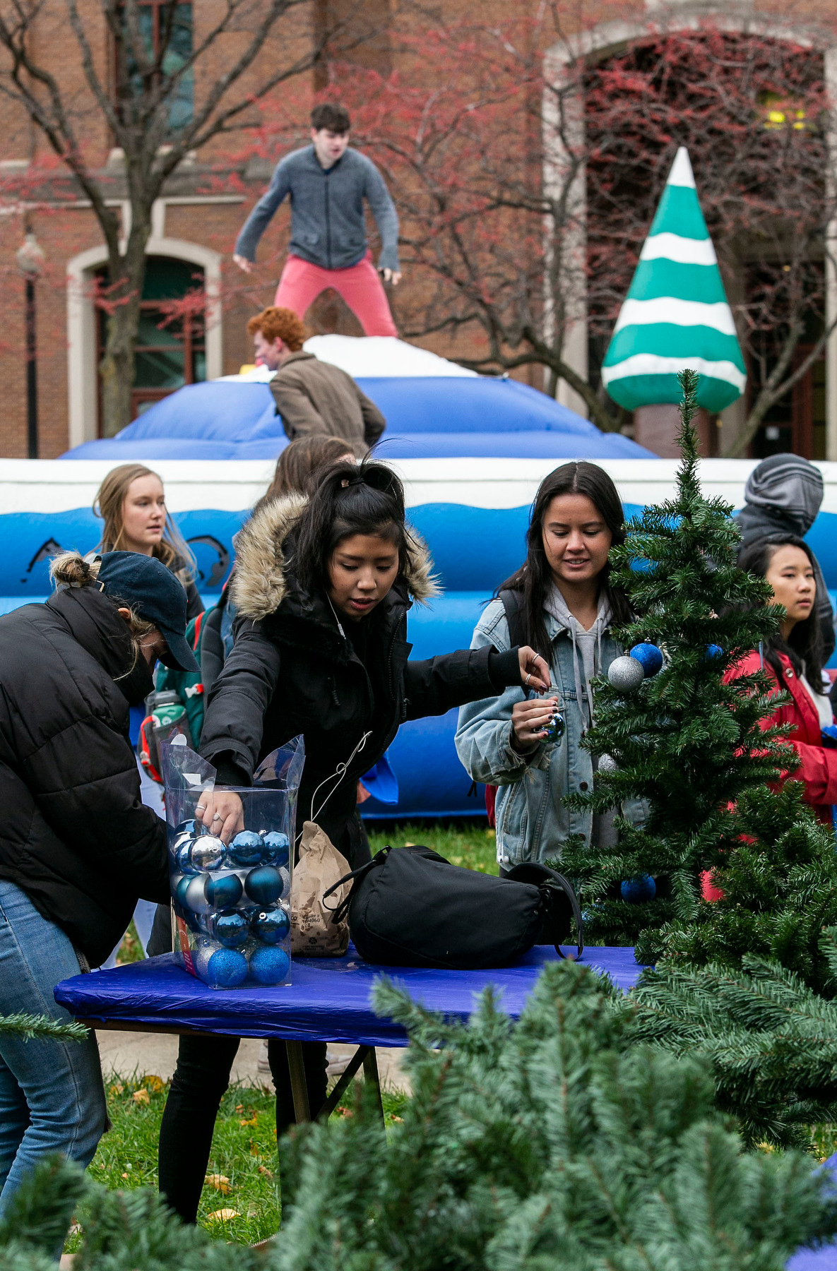Ugly Sweater Party and inaugural DePaul tree lighting
