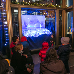 Loop Campus Christmas window unveiling