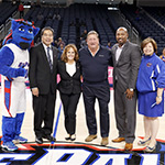 Wintrust Arena ribbon cutting