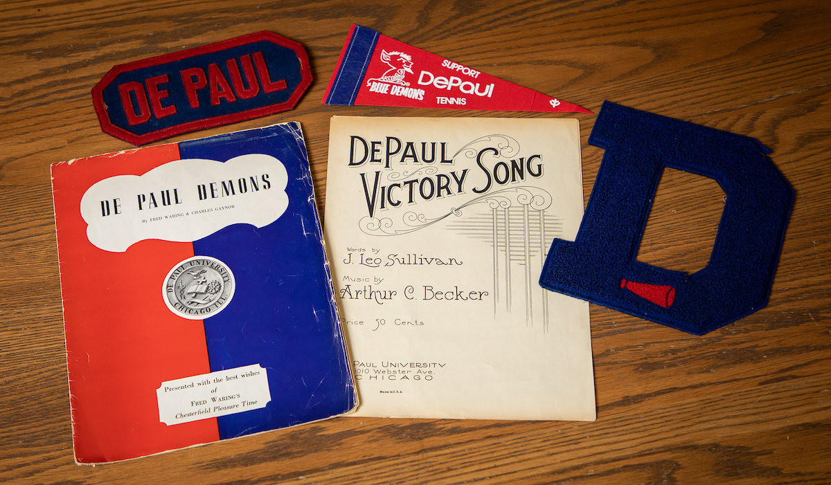 DePaul fight song