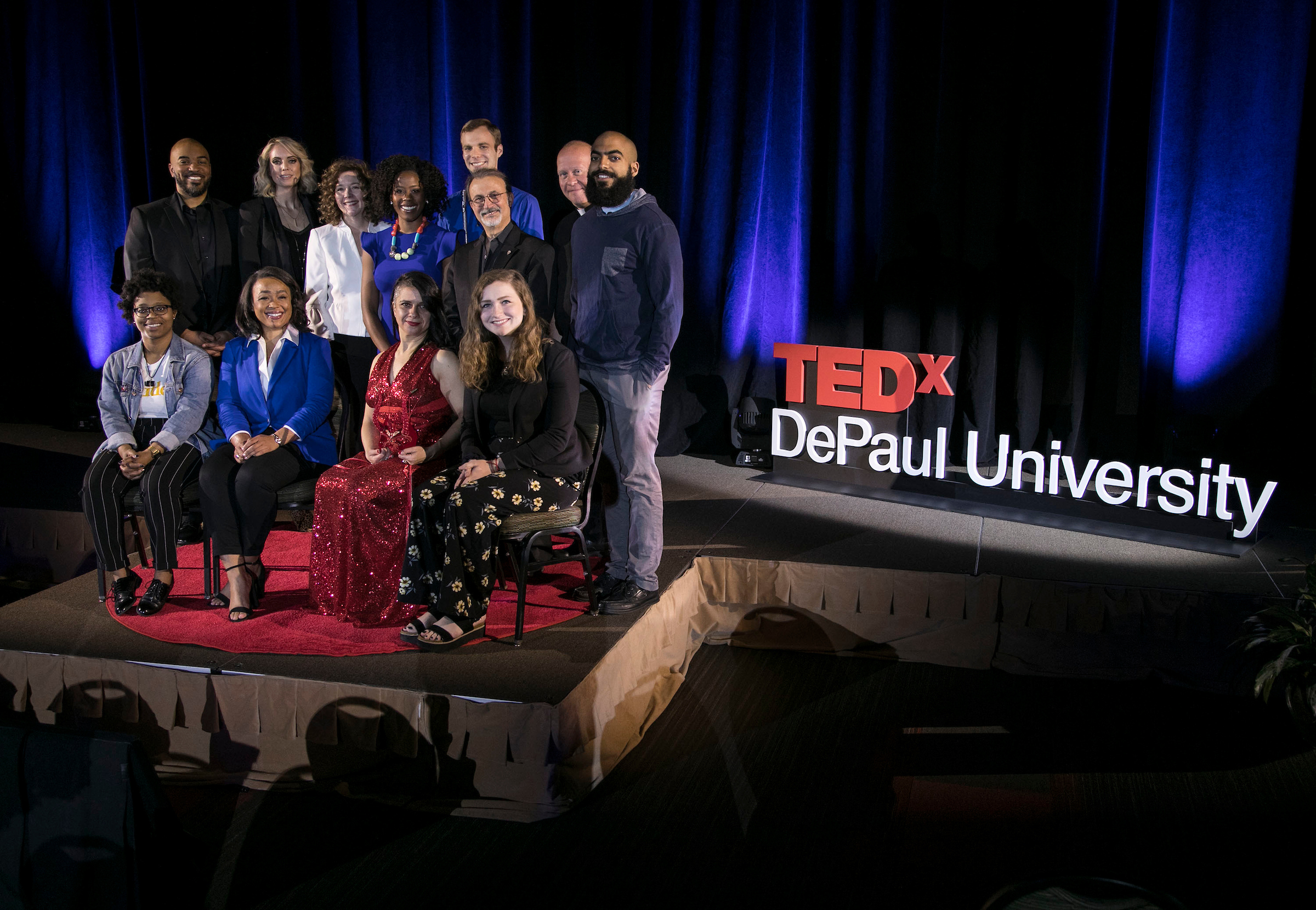 Presenters from the 2018 TEDxDePaulUniversity