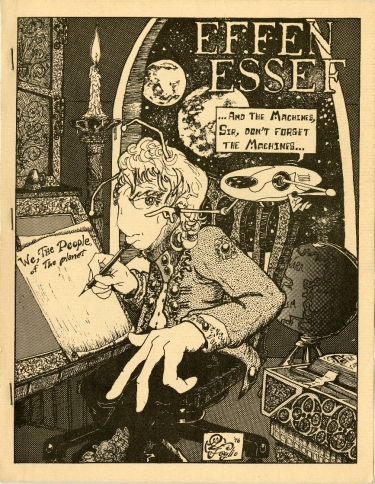 The cover of the April 1976 edition of 'Effen Essef.' (DePaul University/Special Collections and Archives)