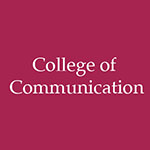 Tenured and promoted faculty: College of Communciation 2019-20