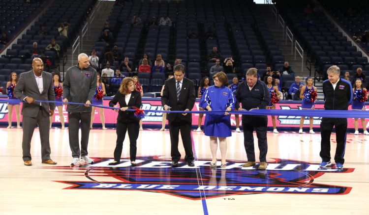 Opening of Wintrust Arena