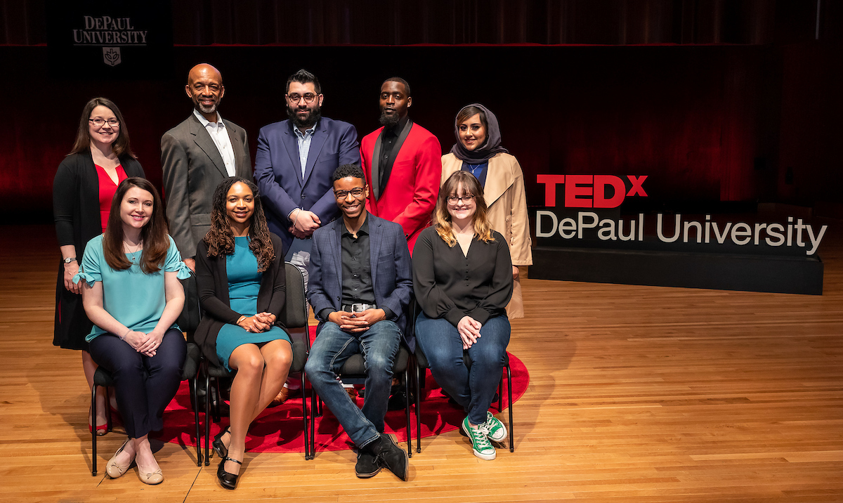 2019 TEDxDePaulUniversity speakers