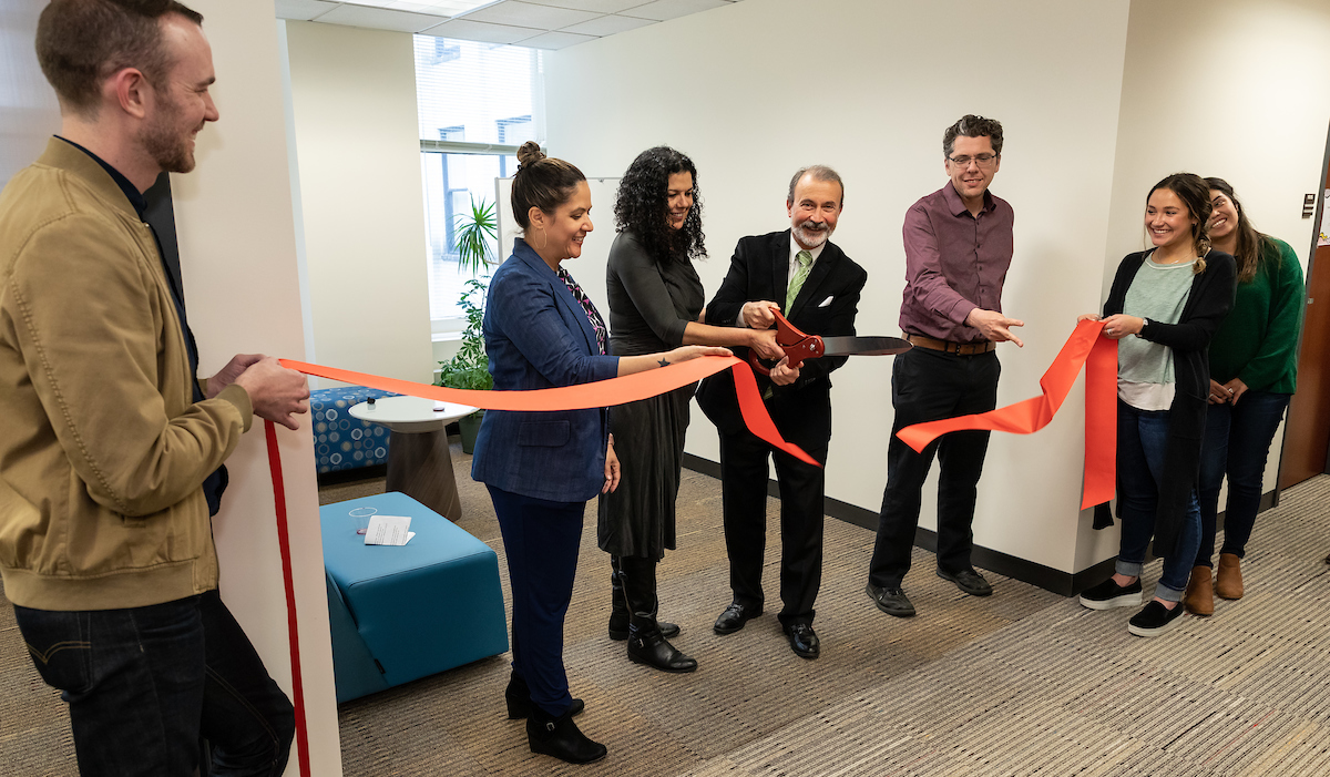 Urban Studies cluster ribbon cutting 2019