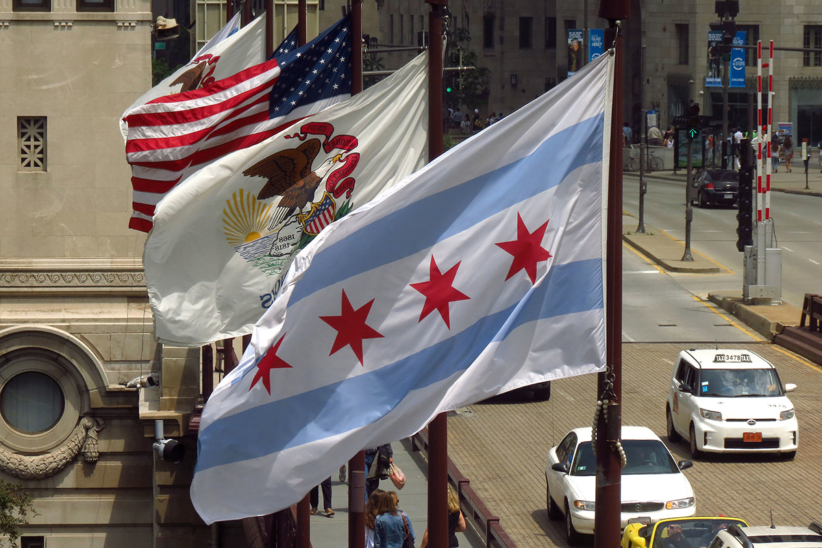 Chicago flags