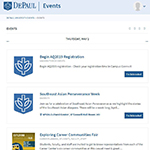 Localist 101: Tips for adding your event to the DePaul events calendar