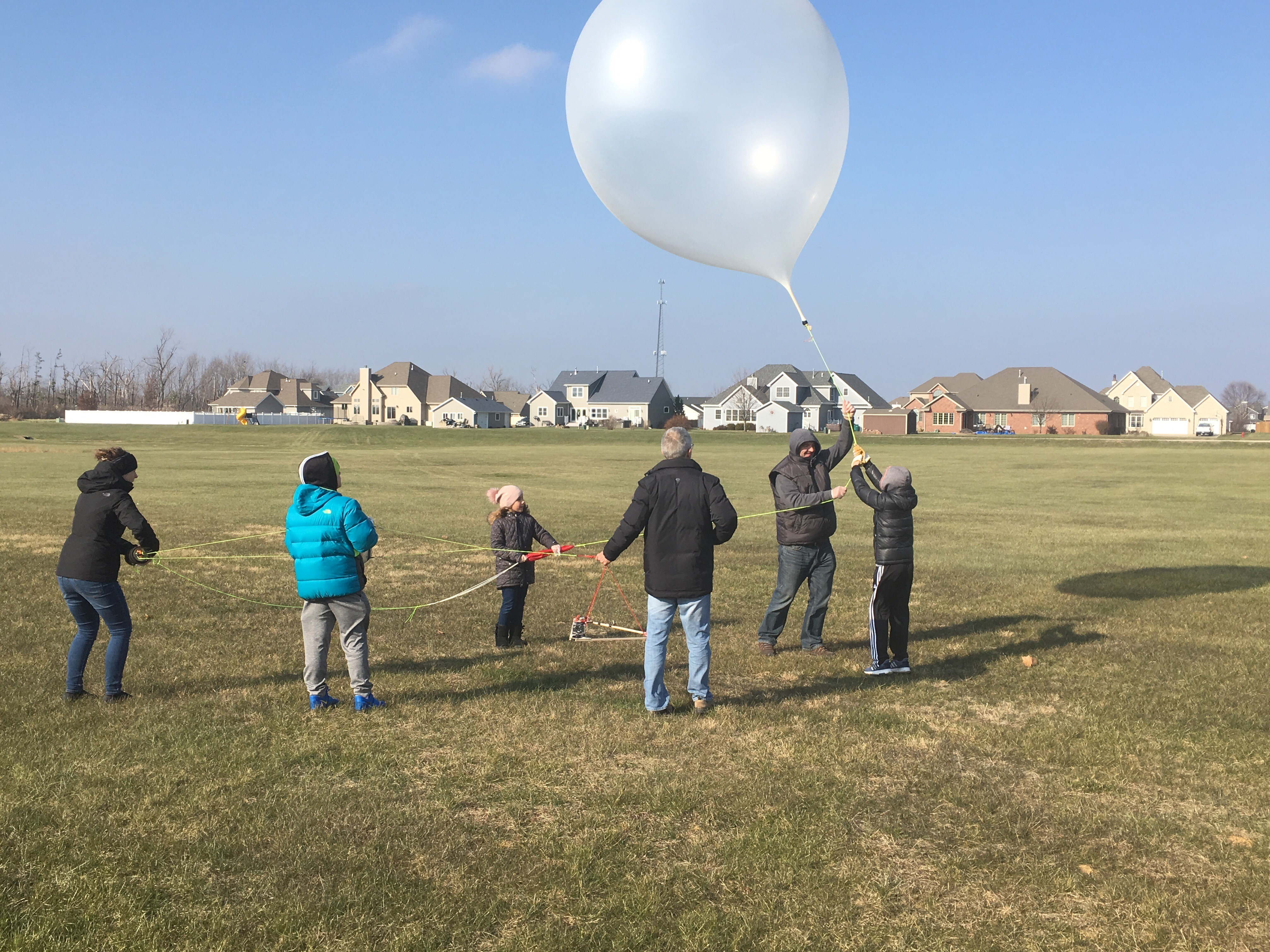high altitude balloon launch