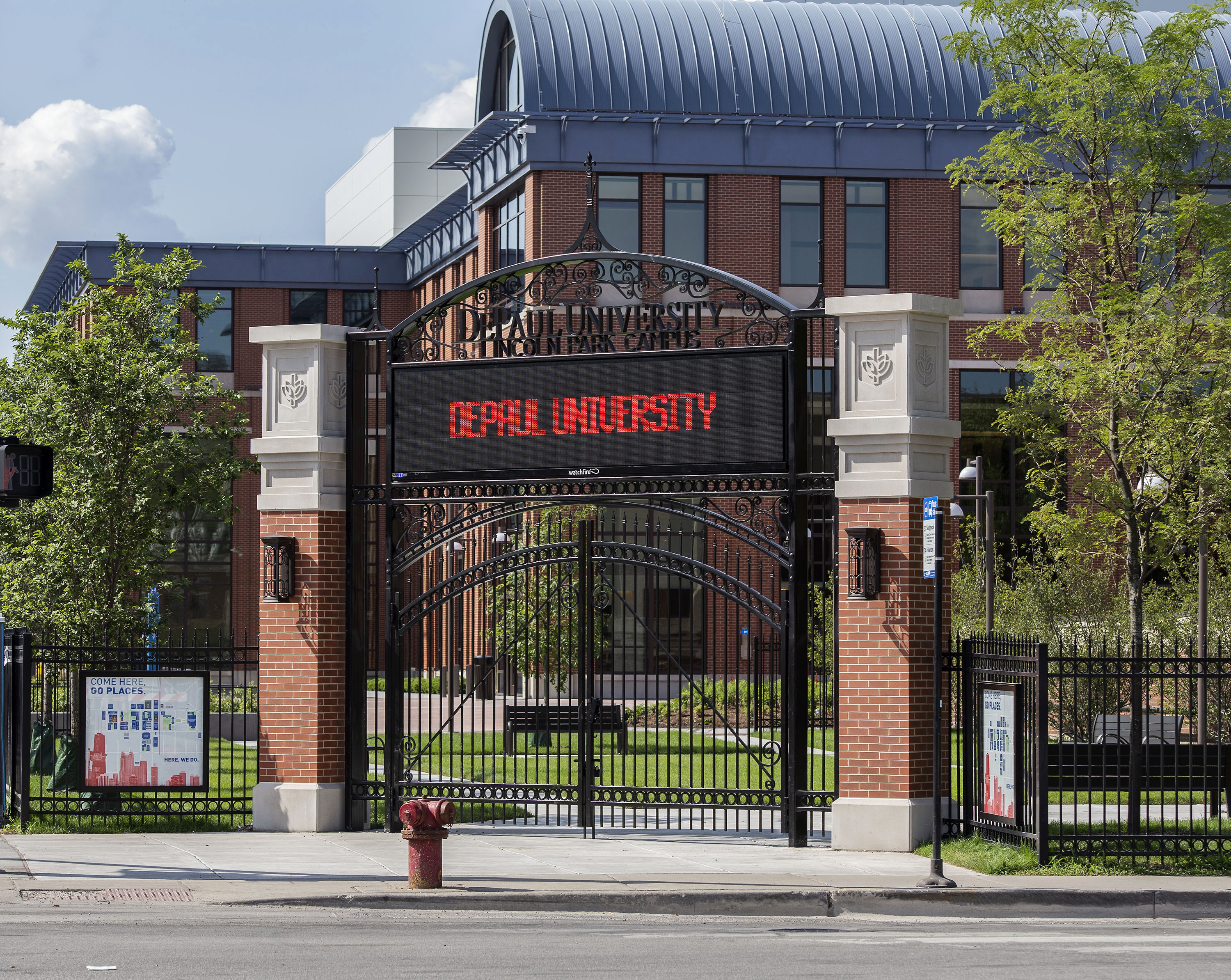 DePaul Lincoln Park Campus Halsted Gateway