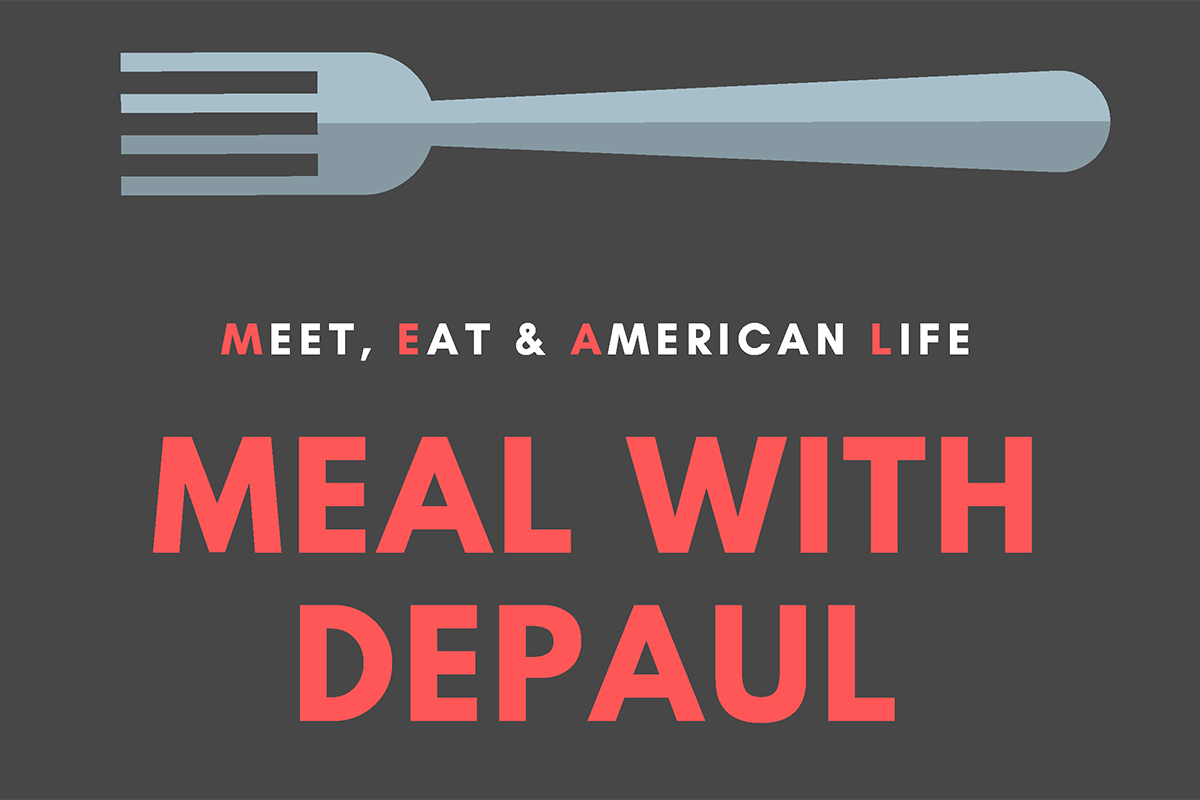 MEAL with DePaul flyer