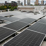 DePaul stays green with added solar panels and new recycling service