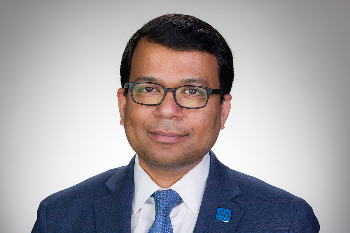 Soumitra Ghosh assumes role as vice president for enrollment management