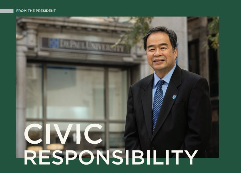 Dr. Esteban on civic responsibility