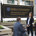 ​​​​DePaul receives 8-figure gift to endow leadership development center, scholarships