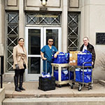 DePaul donates personal protection equipment to local hospitals