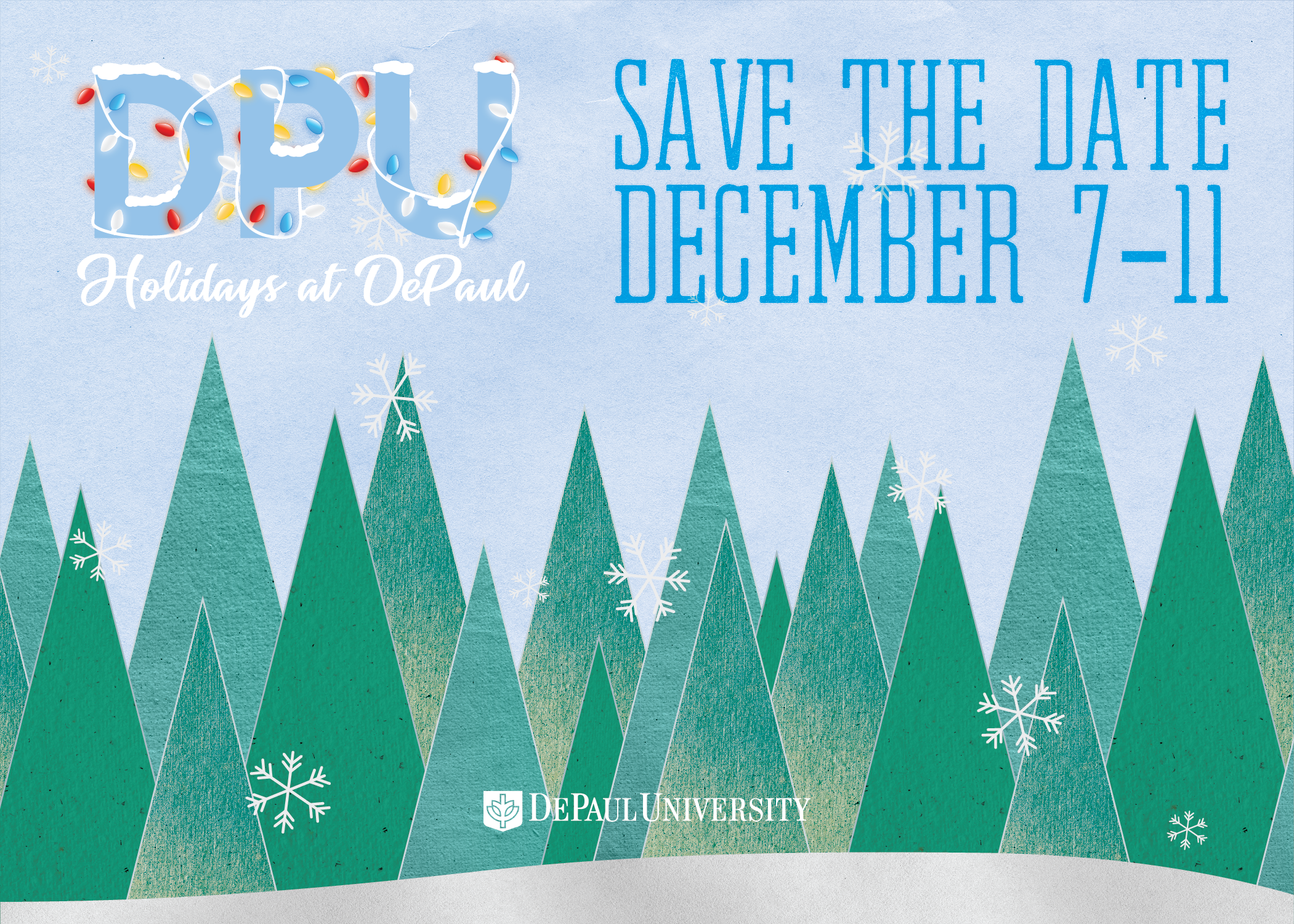 Holidays at DePaul