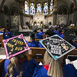 Graduates and faculty: RSVP to attend June 8 Baccalaureate Mass