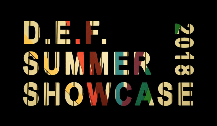 DEF summer showcase 2018