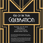 Faculty and staff: RSVP for the 2019 end of year celebration