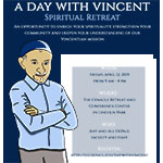 Faculty and staff: Participate in A Day with Vincent Spiritual Retreat